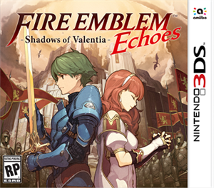 Fire Emblem Echoes: Shadows of Valentia cover art