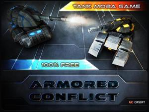 Armored Conflict cover art