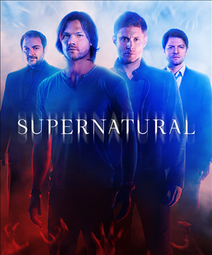Supernatural Season 10 Episode 1: Black cover art