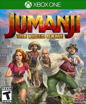 JUMANJI: The Video Game cover art