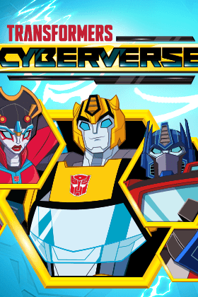Transformers: Cyberverse Season 1 cover art