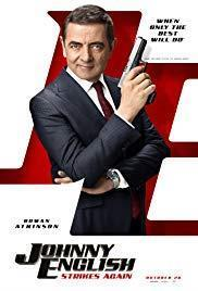 Johnny English Strikes Again cover art