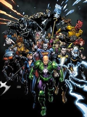 Forever Evil (The new 52) cover art