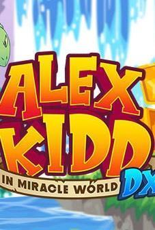 Alex Kidd in Miracle World DX cover art
