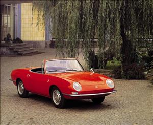FIAT 850 Spider cover art
