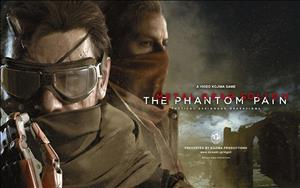 Metal Gear Solid V: The Phantom Pain cover art