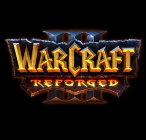 Warcraft III: Reforged cover art