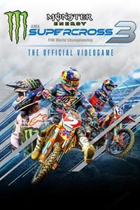 Monster Energy Supercross - The Official Videogame 3 cover art