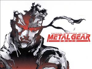 Metal Gear Solid cover art