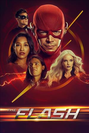 The Flash Season 7 cover art