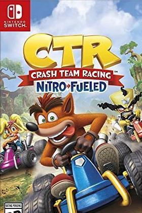 Crash Team Racing Nitro-Fueled cover art