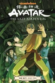 Avatar: The Last Airbender - The Rift (Part 2) cover art