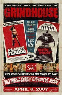 Grindhouse: Planet Terror and Death Proof cover art