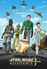 Star Wars Resistance Season 1 cover art