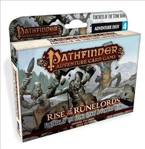Pathfinder Adventure Card Game: Rise of the Runelords – Fortress of the Stone Giants Adventure Deck cover art