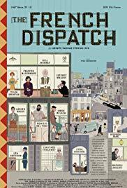 The French Dispatch cover art