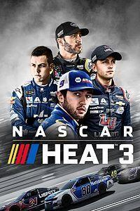 NASCAR Heat 3 cover art