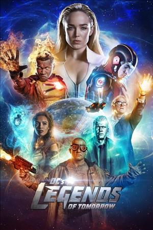 DC's Legends of Tomorrow Season 3 cover art