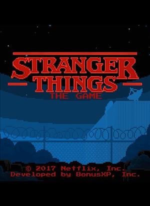 Stranger Things: The Game cover art