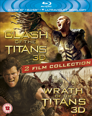 Clash of the Titans / Wrath of the Titans cover art