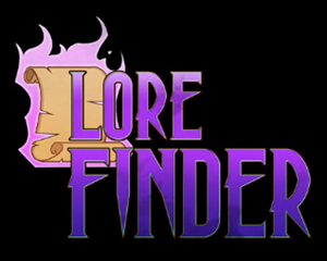 Lore Finder cover art