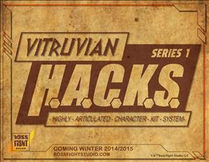 Vitruvian H.A.C.K.S. (Series One) cover art