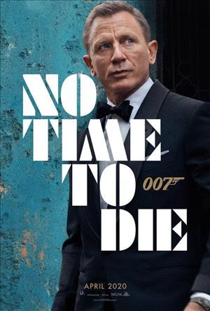 No Time to Die cover art