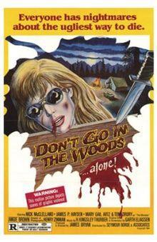 Don't Go in the Woods cover art