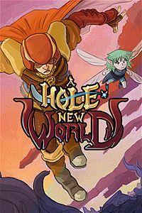 A Hole New World cover art