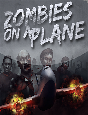 Zombies on a Plane cover art