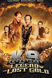 K-9 Adventures: Legend of the Lost Gold cover art