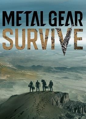 Metal Gear Survive cover art
