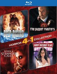4-Pack Horror: Deep Rising / The Puppet Masters / When a Stranger Calls / Happy Birthday to Me cover art