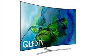Samsung Q8C QLED UHD TV cover art