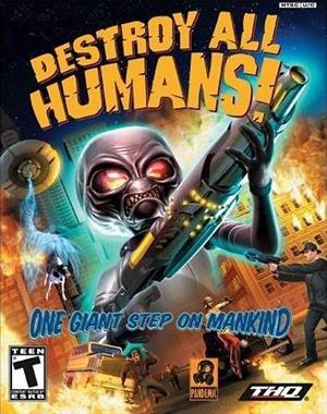 Destroy All Humans! cover art