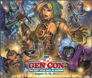 GenCon Gaming Convention cover art