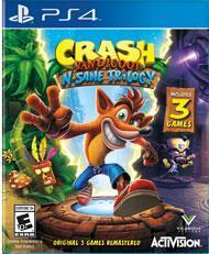 Crash Bandicoot N. Sane Trilogy cover art