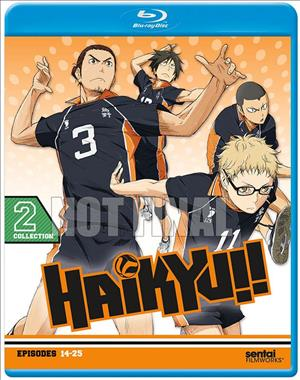 Haikyu!!: Collection 2 cover art