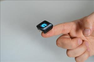 MicroView: Chip-sized Arduino with built-in OLED Display cover art