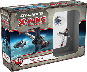 Star Wars: X-Wing Miniatures Game – Rebel Aces Expansion Pack cover art