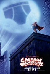 Captain Underpants: The First Epic Movie cover art