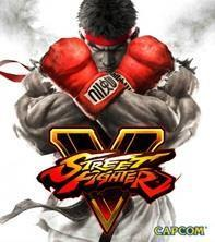 Street Fighter V cover art
