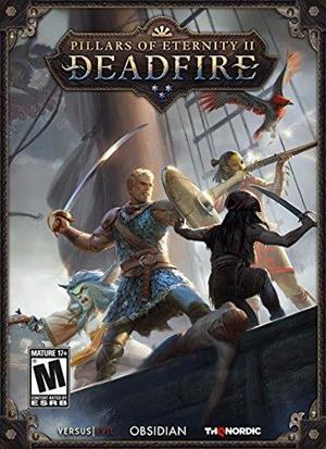 Pillars of Eternity II: Deadfire cover art