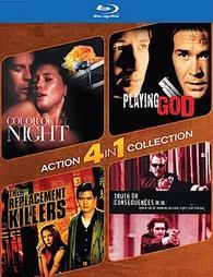 4-Pack Action: Color of Night / Playing God / The Replacement Killers / Truth or Consequences, N.M. cover art