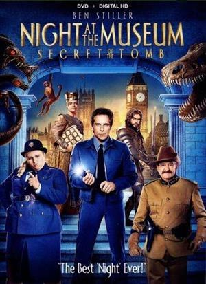 Night at the Museum: Secret of the Tomb cover art