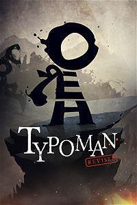 Typoman: Revised cover art