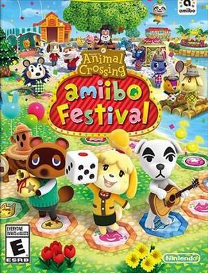 Animal Crossing: amiibo Festival cover art