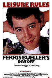 Ferris Bueller's Day Off cover art