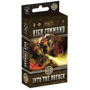 Warmachine: High Command – Into the Breach cover art