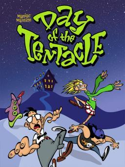 Day of the Tentacle Remastered cover art